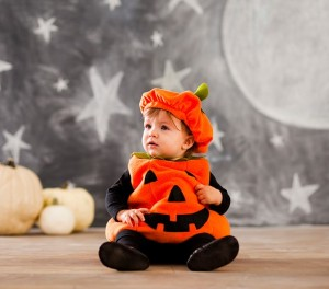 Pottery Barn Pumpkin Halloween Costume