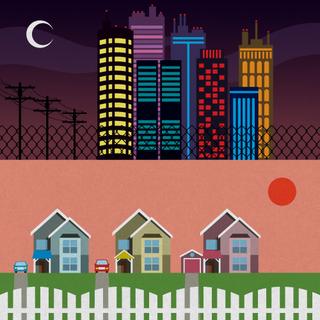 city vs burbs