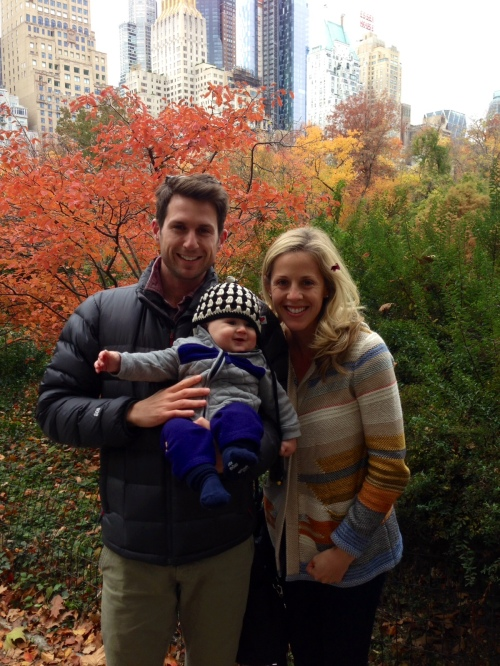Family picture in Central Park