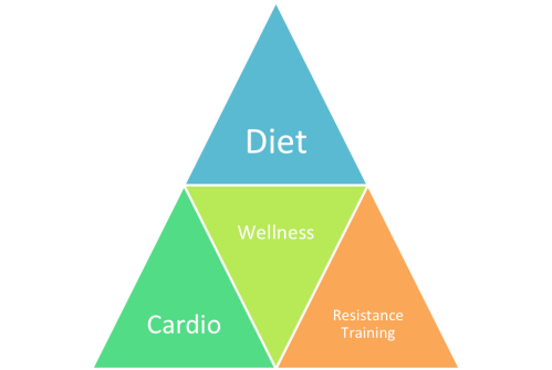 Achieving Healthy Living Pyramid