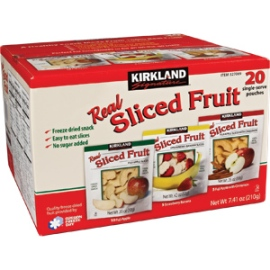 kirkland real sliced fruit