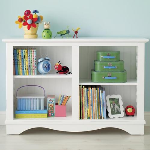 Low rider bookcase from Land of Nod