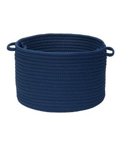 zulily navy blue basket
