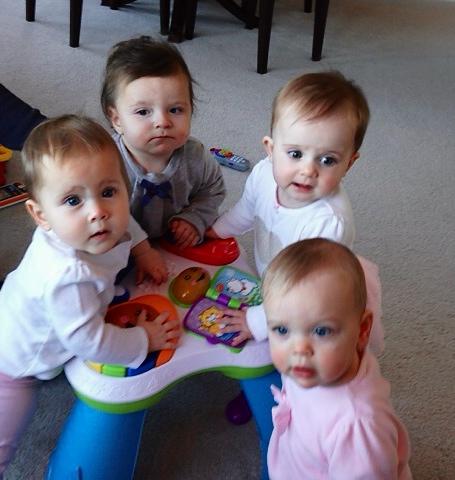 girls at play group