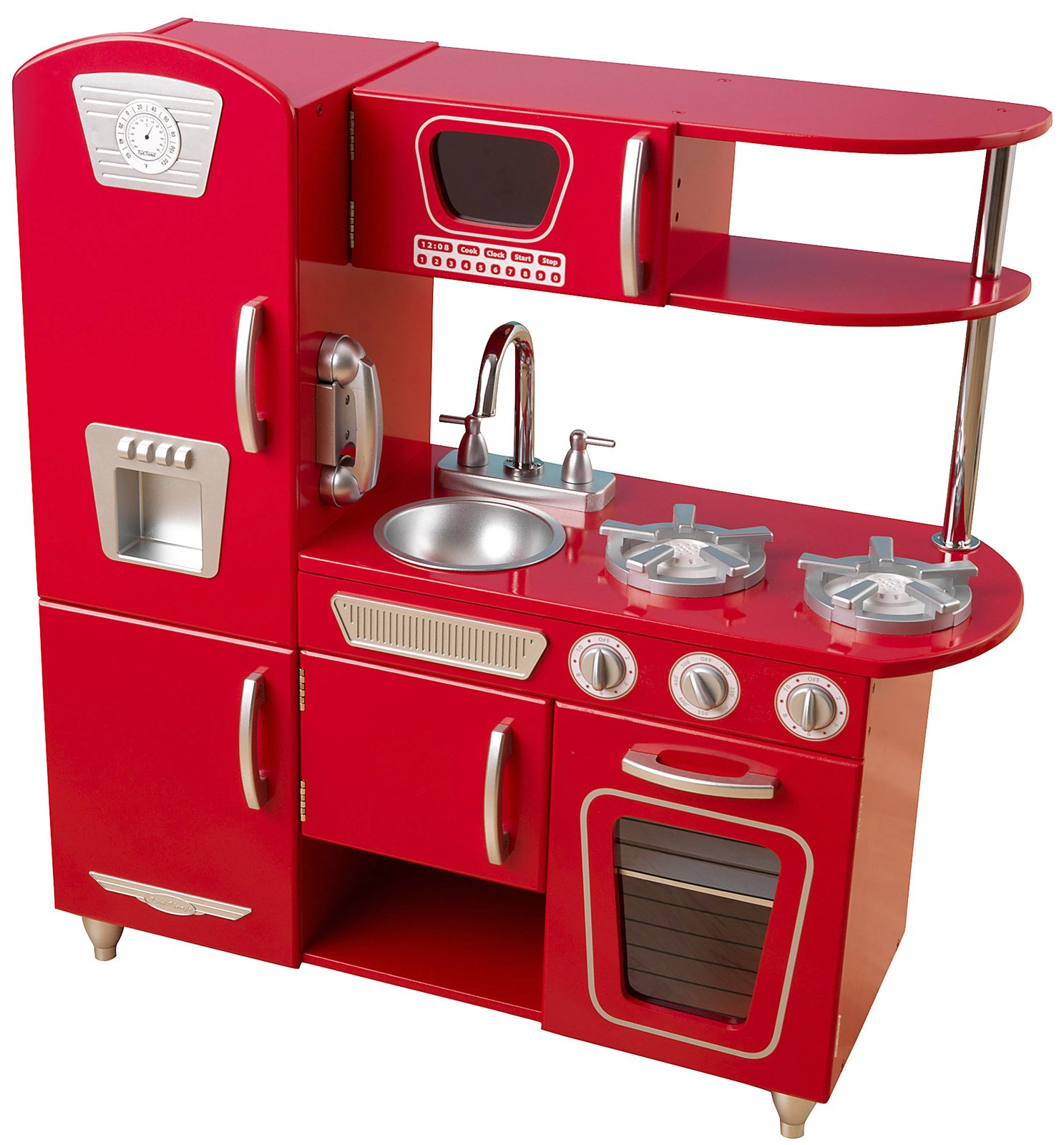 Melissa And Doug Wooden Appliance Set In Duktig Kitchen