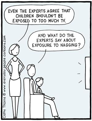 mother father tv cartoon