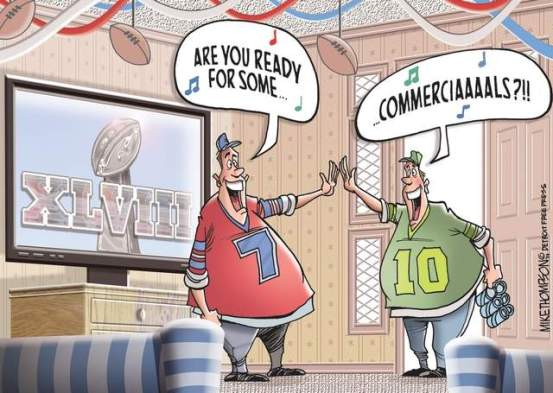 Image result for super bowl commercial cartoons